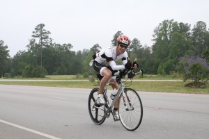 biking Ironman Texas
