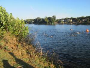 Augusta 70.3 swim