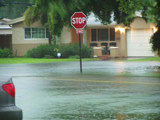 a flooded Miramar 2001